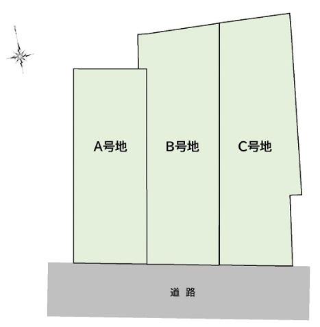 【区画図】南国市田村乙