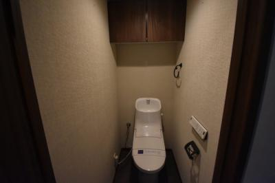 【トイレ】フルリノベーション入った綺麗な2LDK レジディア六本木檜町公園