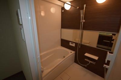 広めのお風呂 追い炊き 浴室乾燥ついてます。