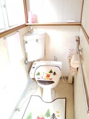 【トイレ】鳥取市茶町中古戸建て