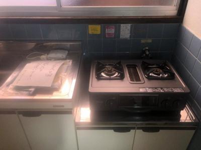 【キッチン】仲山アパート