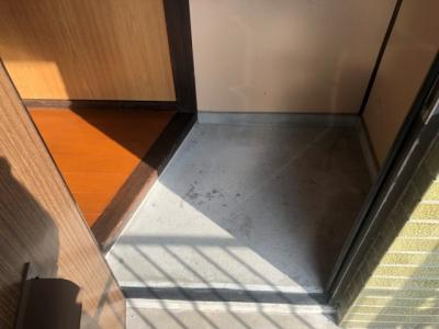 【玄関】仲山アパート