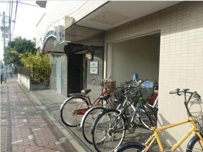 自転車置場☆