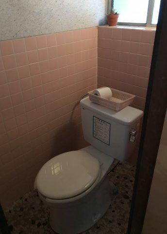 洋式トイレです。