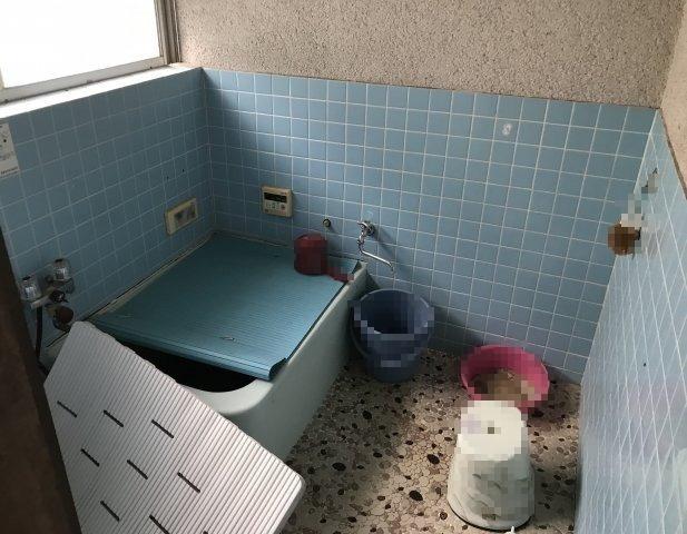 洗い場がじゅうぶんに確保されています。
