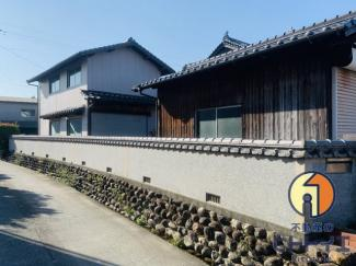 【外観】八女市津江中古住宅