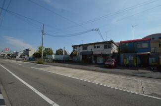 【前面道路含む現地写真】別府町売り土地