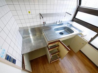 【キッチン】三条さやかビル