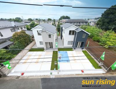 【外観】立川市幸町5丁目 新築一戸建 全2棟 1号棟