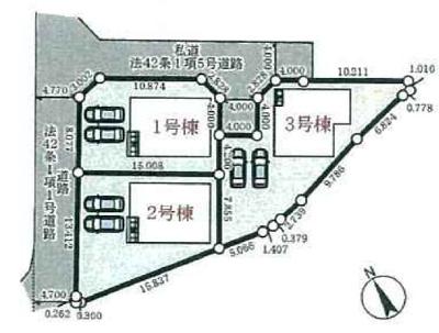 【外観】加東市社 第17 3号棟