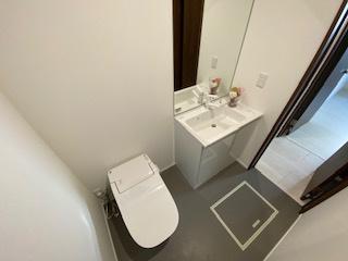 タンクレス洗浄機能付き♪手洗いもあり♪ 新築戸建の事はマックバリュで住まい相談へお任せください。