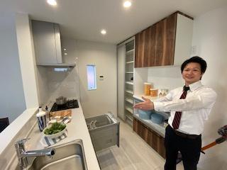食洗機付きシステムキッチン♪ 新築戸建の事はマックバリュで住まい相談へお任せください。