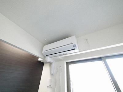 エアコン付きのお部屋です
