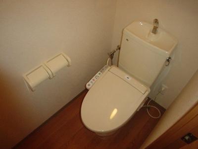コンパクトで使いやすいトイレです 【COCO SMILE】