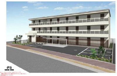 積水ハウス施工の3階建賃貸シャーメゾンです。