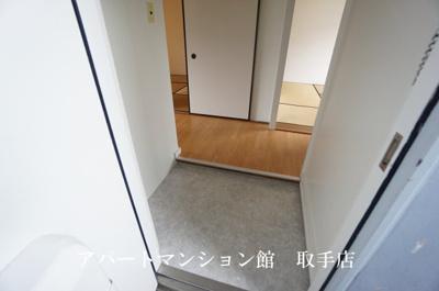 【玄関】ビレッジハウス台宿1号棟