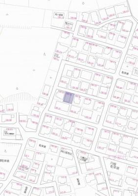 【地図】収益物件-中古住宅-八女郡広川町大字新代