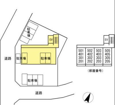 【区画図】黄金森ガーデンⅡ