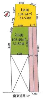 敷地343.16㎡(約103.80坪)
