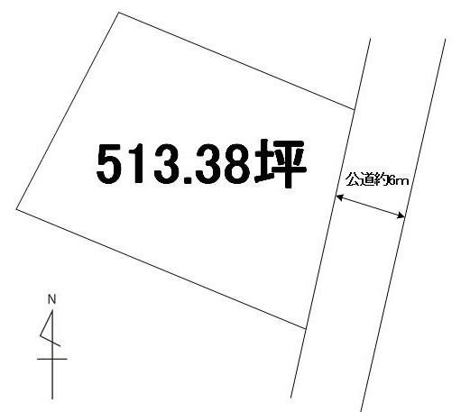 【土地図】ひたちなか市殿山町1丁目土地