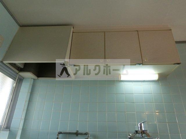 山下マンション キッチン(換気扇あり)