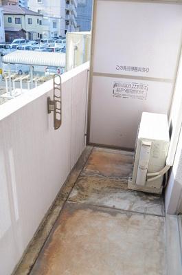 【バルコニー】ヒット砂津BLD