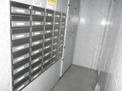 メール&宅配ボックス。