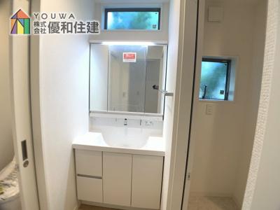 【洗面所】神戸市垂水区西舞子4丁目 新築戸建
