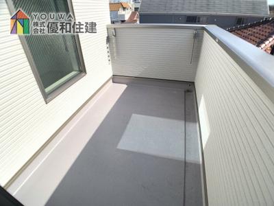 【バルコニー】神戸市垂水区西舞子4丁目 新築戸建