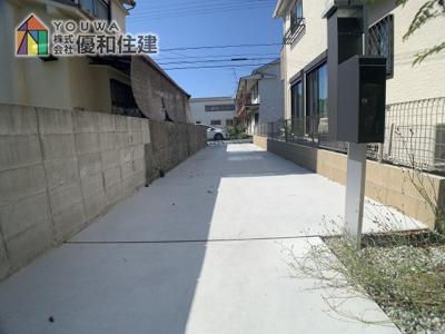 【駐車場】神戸市垂水区西舞子4丁目 新築戸建