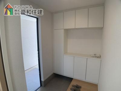 【玄関】神戸市垂水区西舞子4丁目 新築戸建
