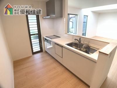 【キッチン】神戸市垂水区西舞子4丁目 新築戸建
