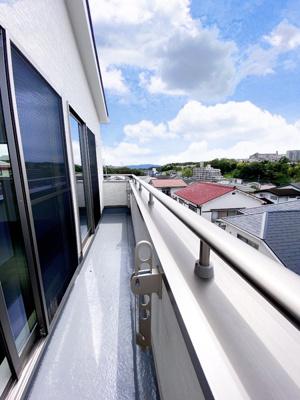 【バルコニー】神戸市垂水区多聞台2丁目 新築戸建