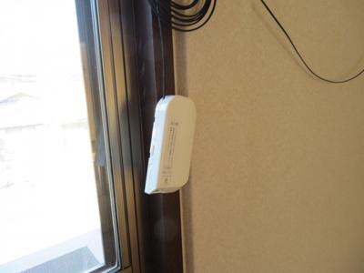 インターネット接続工事済 別のお部屋のお写真となります。
