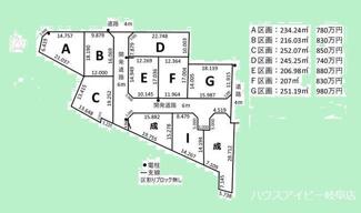 【外観】岐阜市茶屋新田 全10区画