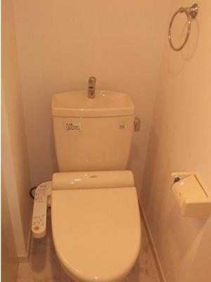 スカイパークテラスのトイレもきれいです