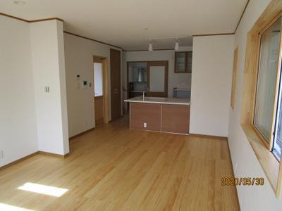 【居間・リビング】神戸市垂水区西舞子8丁目 A号棟 新築戸建