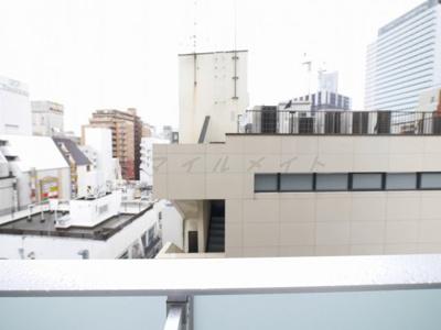7階バルコニーからの眺望・北西向きです。