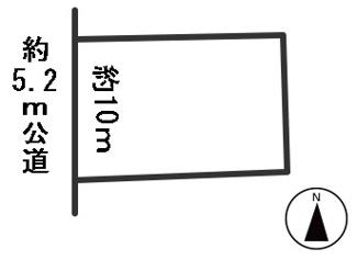 【区画図】55327 岐阜市上土居土地