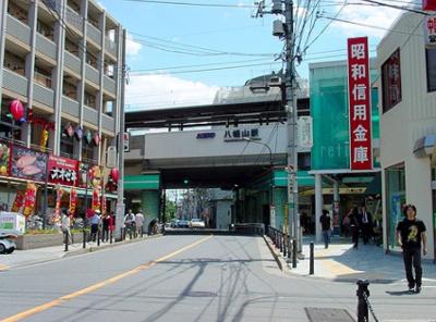 八幡山駅まで徒歩1分