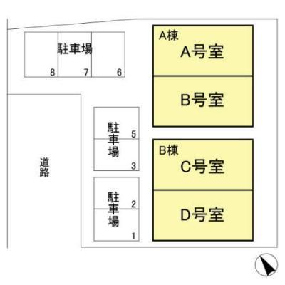 【区画図】セピアコート A