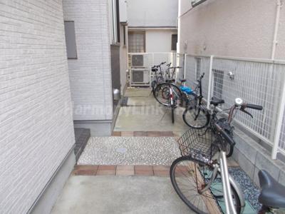 ESTANCIAの駐輪スペース