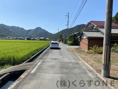 【地図】たつの市新宮町上笹/売土地