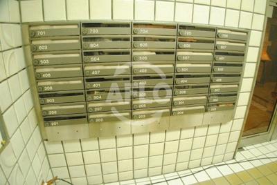 ハイツオークラ靭公園 メールBOX