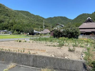 【前面道路含む現地写真】たつの市新宮町上笹/売土地