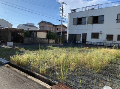 【前面道路含む現地写真】たつの市誉田町福田/売土地