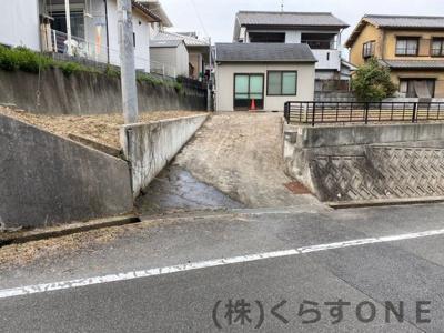 【外観】たつの市揖西町土師/売土地