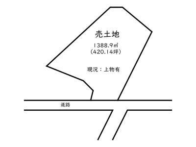 【外観】たつの市新宮町船渡/売土地