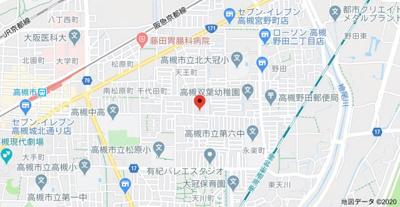 【地図】ヤマモトマンション(株)ROOTS