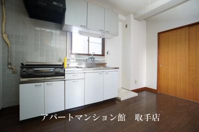 【キッチン】野口第三ビル